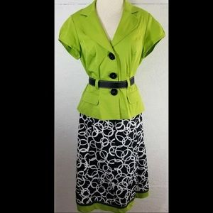 Dressbarn two piece skirt and top. Size 12